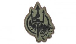 MIL-SPEC MONKEY - Morale Patch - Costa Ludus Trident EMB - Forest