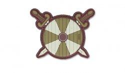 101 Inc. - Naszywka 3D - Viking Shield With Two Swords