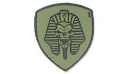 101 Inc. - Naszywka 3D - Pharaoh Skull - Zielony OD