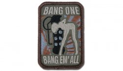 MIL-SPEC MONKEY - Morale Patch - Bang One, Bang Em' All - Forest