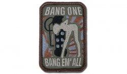 MIL-SPEC MONKEY - Morale Patch - Bang One, Bang Em' All - Forest