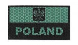 Combat-ID - Naszywka Polska - Duża - Zielony - Gen I - A1