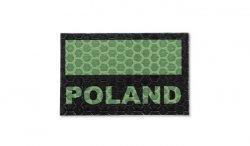Combat-ID - Naszywka Polska - Mała - Zielony - Gen I - C3