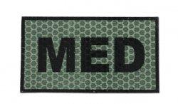 Combat-ID - Naszywka MED - Zielony - Gen I - E2