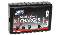 ASG - Ładowarka do baterii - NiCd, NiMH, LiPo, Li-Fe - 17205