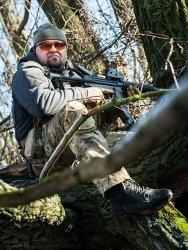 Ochraniacze na kolana - woodland [8fields]