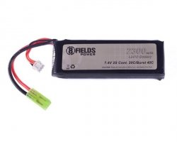 Akumulator Li-Po 2300mAh 7,4V 20/40C [8FIELDS]