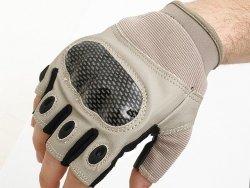 Military Combat Gloves mod. III (Size L) - Tan [8FIELDS]