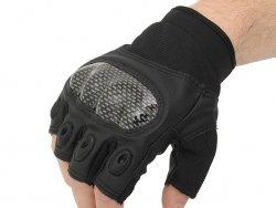 Military Combat Gloves mod. III (Size XL) - Black [8FIELDS]