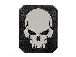 Naszywka Pirateskull PVC 4 [EM]