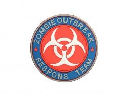 Naszywka Zombie Outbreak PVC 3 [EM]