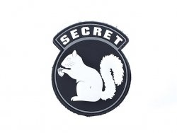 Naszywka  Secret Squirrel PVC 1 [EM]