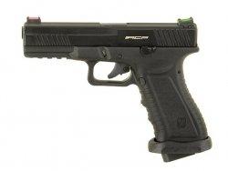 ACP601 CO2 Blow Back Pistol - Black [APS]