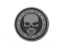 Naszywka Don't Run PVC 1 [8FIELDS]