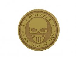 Naszywka Don't Run PVC 3 [8FIELDS]