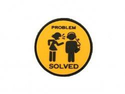 Naszywka  PROBLEM PVC 1