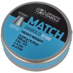 JSB - Śrut Blue Match Diabolo S100 4,52mm 500szt.