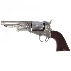 Pietta - Rewolwer 1851 Colt Navy Yank US Marshal Steel kal. 44 (YAUM44/STLC)