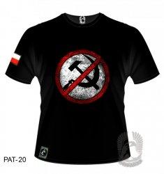 Koszulka Antykomuna PAT-20 [rozmiar 2XL]