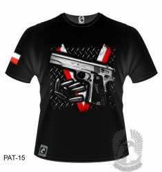 Koszulka VIS PAT-15 [rozmiar L]