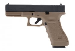 WE - Replika Glock 17 Gen3 TAN
