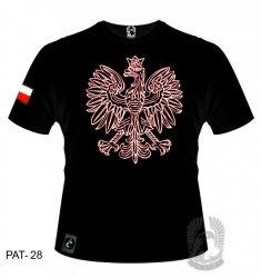 Koszulka Orzeł biało-czerwony PAT-28 [rozmiar M]