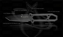 Mantis - MF-1 Prybar - Black