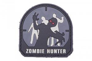 Naszywka 3D – Zombie Hunter - czarna
