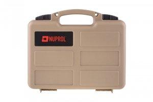 Walizka na pistolet Nuprol pistol case PNP - TAN