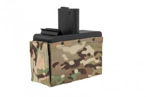 G&G - Magazynek BOX na 2500 kulek do LMG - Multicam