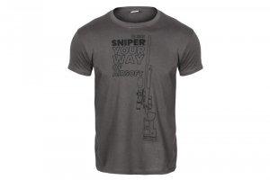 Koszulka Specna Arms - Your Way Of Airsoft 03 - szara/czarna