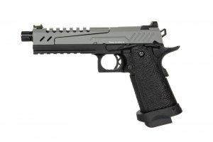 Replika pistoletu Hi-capa 5.1 Split Slide - szara / czarna