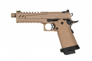 Replika pistoletu Hi-capa 5.1 Split Slide - tan