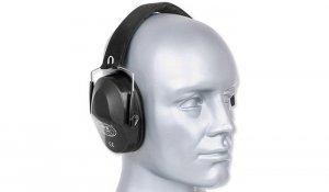 MFH - Składane słuchawki ochronne - Czarny