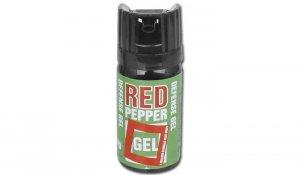 Gaz pieprzowy Defence Red Pepper - Żel - 40 ml - Chmura - 10040-C