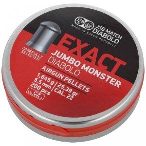 JSB - Śrut Exact Jumbo Monster 5,52mm 200szt.