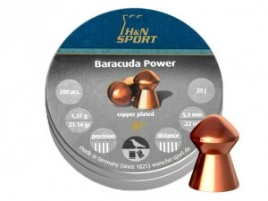 H&N - Śrut diabolo Baracuda Power 5,5mm 200szt.