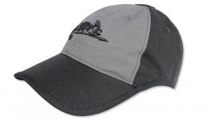 Helikon - Czapka Logo Cap - Czarny / Shadow Grey - CZ-LGC-PR-0135B