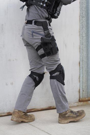 Zestaw ochraniaczy na kolana - czarne