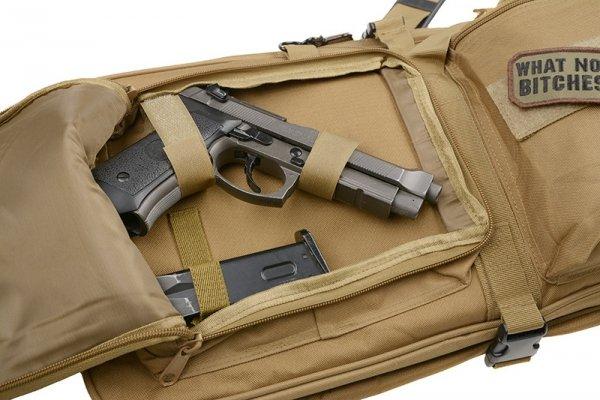 Pokrowiec na broń 84cm - czarny