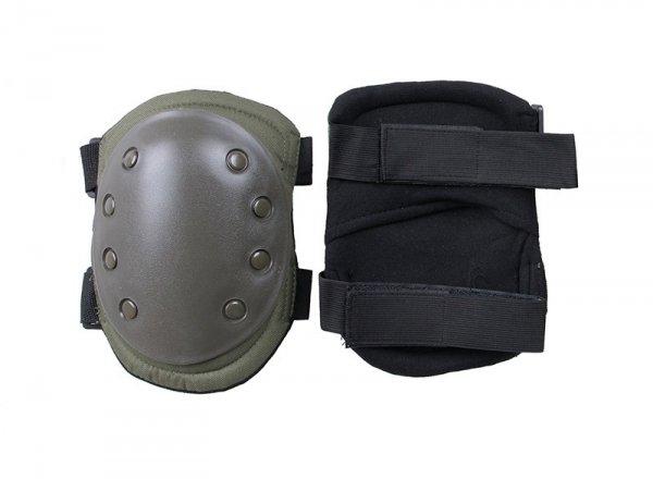Zestaw ochraniaczy na kolana - oliwkowe