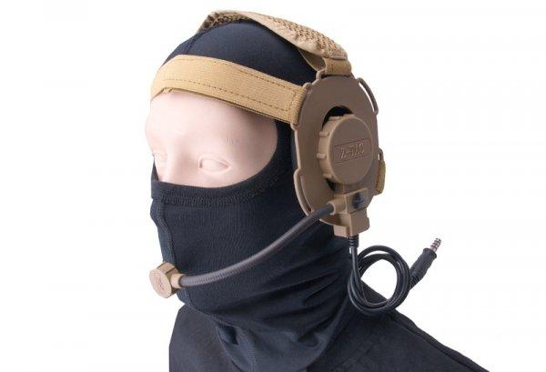 Z-Tactical - Zestaw słuchawkowy Bowman Evo III - piaskowy