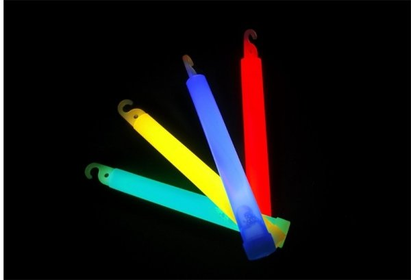 Światło chemiczne GlowStick - czerwone
