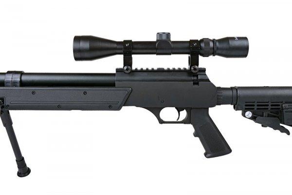 Replika karabinu snajperskiego MB13D z lunetą i dwójnogiem