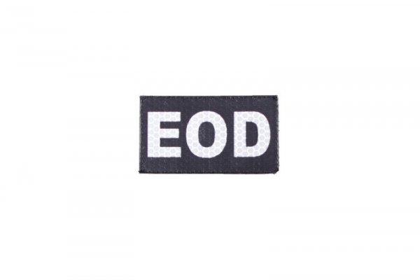 Naszywka IR - EOD - czarna