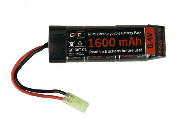 GFC - Akumulator NiMH 8,4V 1600mAh typ mini