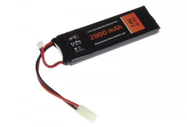 GFC - Akumulator LiPo 7,4V 2800mAh 25C