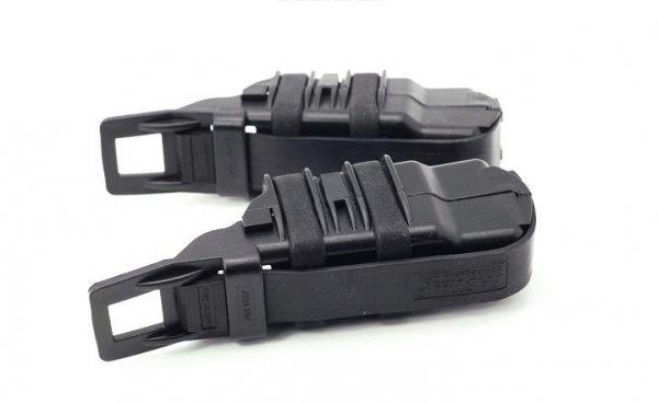 Zestaw 2 ładownic FAST na magazynki pistoletowe - czarny