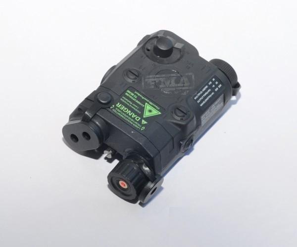 Replika AN/PEQ 15 z celownikiem laserowym - czarny