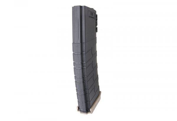 G&G - Magazynek Mid-Cap na 120 kulek do M4 - czarny/TAN